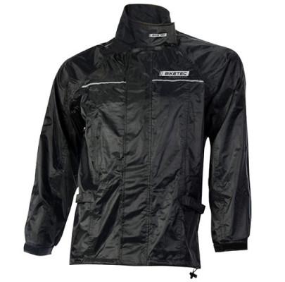 Куртка дождевая  Biketec Black (L)