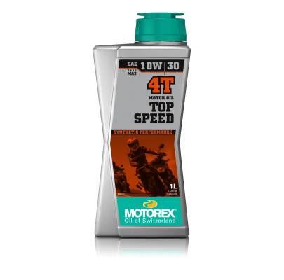 Масло моторное Motorex Top Speed 4T 10w30 (4L)