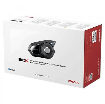 Мотогарнитура SENA 30K Bluetooth Mesh 2.0  (30K-01(SP46))
