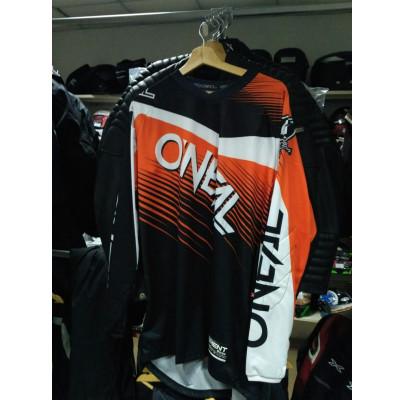 Джерси Oneal Element Shocker  Orange Black White L)