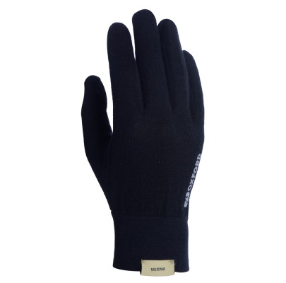 Перчатки Oxford Deluxe Gloves Merino Blk L/XL