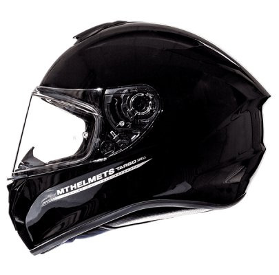 Мотошлем интеграл  MT Targo Solid Black Gloss (L) MP ТЕСТ