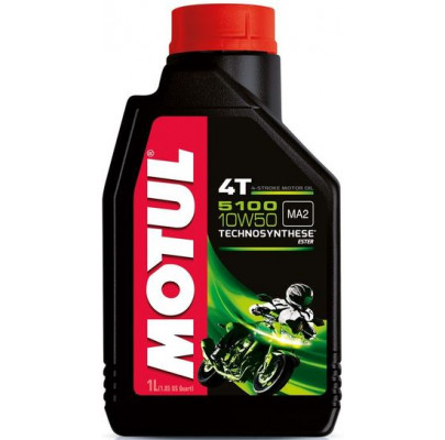 Моторное масло Motul 5100 4T SAE 10W50 (1L)