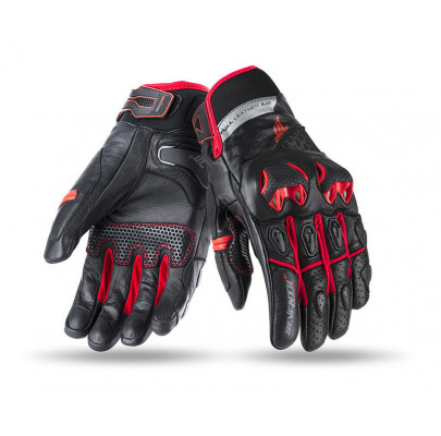 Мотоперчатки кожанные  Seventy sd-n32 Red M