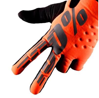 Мотоперчатки Эндуро RIDE 100% BRISKER Cold Weather Orange L