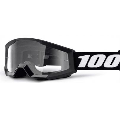 Детские очки 100% Strata MINI Black Clear Leans