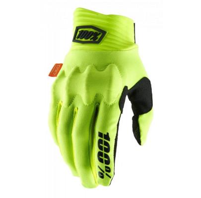 Мотоперчатки Эндуро Ride 100% COGNITO Glove [Fluo Yellow] L