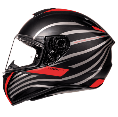 Мотошлем Интеграл MT Targo Doppler Black/Red ( L)