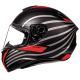 Мотошлем Интеграл MT Targo Doppler Black/Red (XL)