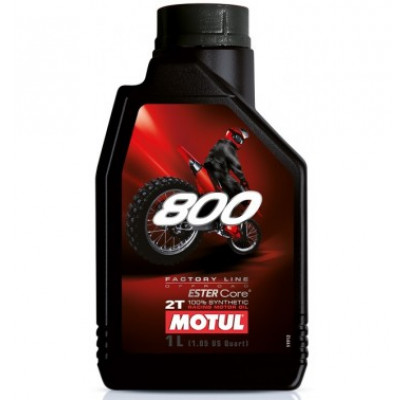 Моторное масло Motul 800 2T FACTORY LINE OFF ROAD (1L)