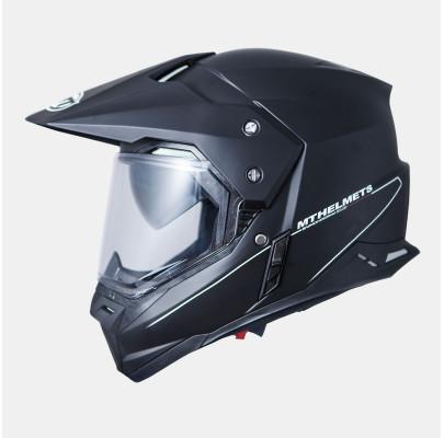 Мотошлем Dual-sport MT Synchrony SV Duo Sport Black Gloss (Размер: L)