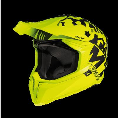 Мотошлем Кросс/Эндуро MT Falcon Karson Yellow  XS)