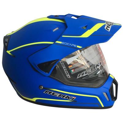 Мотошлем Dual-sport Nenki MX-310 MATT BLUE L