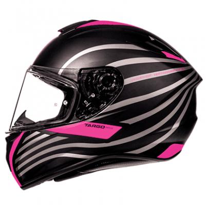 Мотошлем Интеграл MT Targo Doppler Black/Pink ( L)