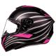 Мотошлем Интеграл MT Targo Doppler Black/Pink (XXL)