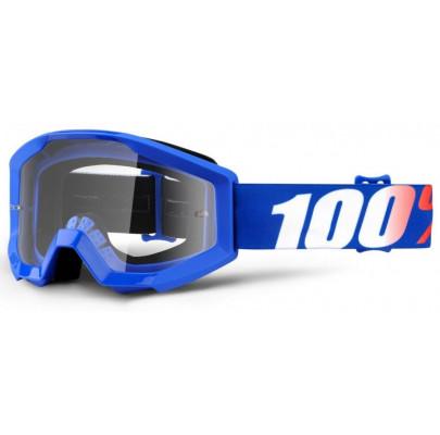 Очки кроссовые 100% STRATA Goggle Nation - clear Lens