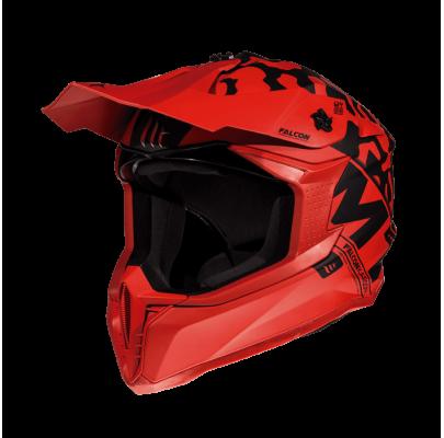 Мотошлем Кросс/Эндуро MT Falcon Karson Red (L)