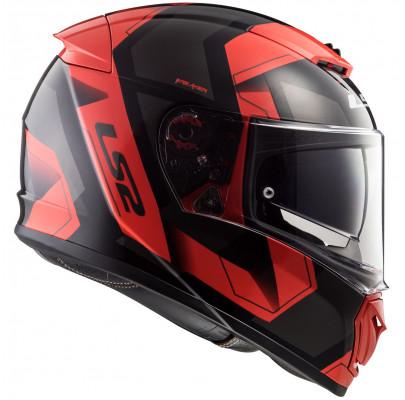 Мотошлем Интеграл LS2 FF390 Breaker Black/Red (L) Акция!!!