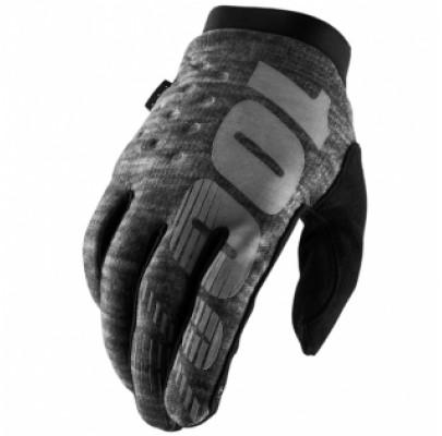 Мотоперчатки Эндуро RIDE 100% BRISKER Cold Weather Black L