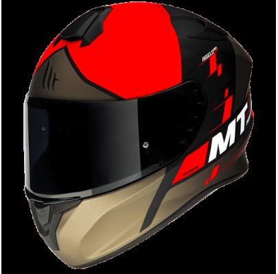 Мотошлем Интеграл MT Targo Rigel Matt Red/Black/Brown (M) MP