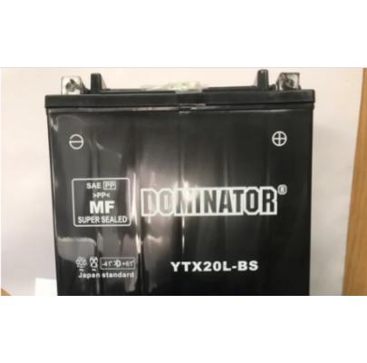 АКБ 20А YTX20L-BS Dominator 170*150*90