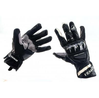 Мотоперчатки кожанные Vemar-172 L