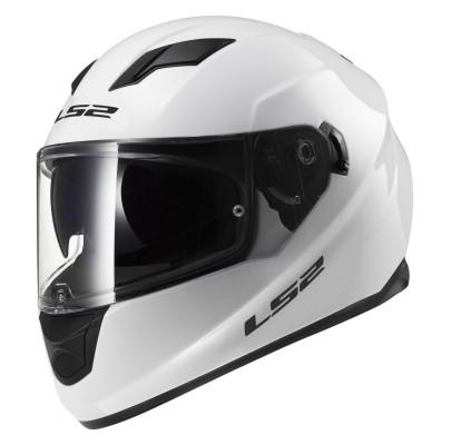 Мотошлем Интеграл LS2 FF320 Stream Evo Gloss White (XXL) Акция!!!