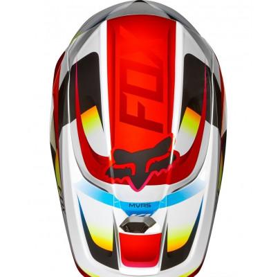 Мотошлем Кросс/Эндуро FOX V1 MOTIF Red/White (S)