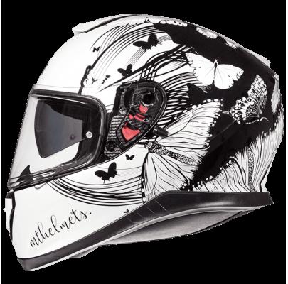 Мотошлем MT Helmets THUNDER 3 SV VLINDER gloss pearl white