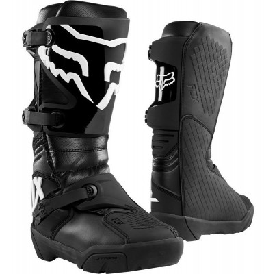 Мотоботы Кросс/Эндуро FOX COMP X BOOT Black (Size:M8)