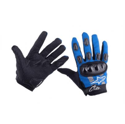 Мотоперчатки текстиль Alpinestars blue реплика L