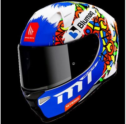 Мотошлем Интеграл MT Revenge 2 Moto Matt Pearl White (M) MP