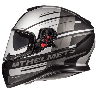 Мотошлем Интеграл MT Thunder Pitlane Grey Mat (Размер: XL)