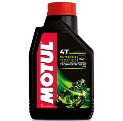 Моторное масло Motul 5100 4T SAE 10W30 (1L)