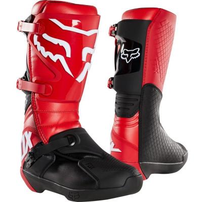 Мотоботы Кросс/Эндуро FOX COMP BOOT RED (Size:M12/46.5)