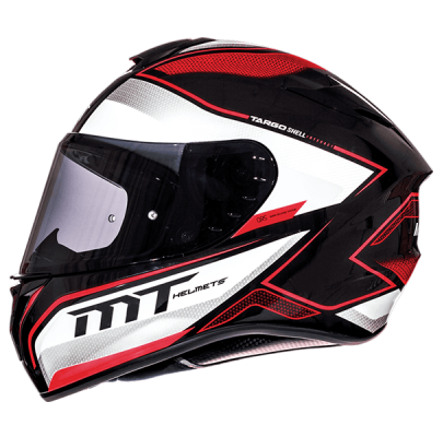 Мотошлем Интеграл MT Targo Interact White/Black/Red (Размер: XL)