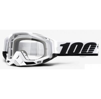 Очки кроссовые 100% Racecraft Stuu Clear Leans