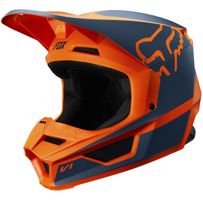 Мотошлем детский FOX YTH V1 PRZM Orange (YS)