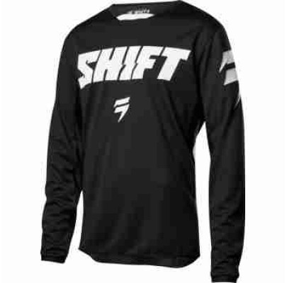Джерси SHIFT WHIT3 LABEL RACE JERSEY 2 [BLACK/WHITE] (XL)