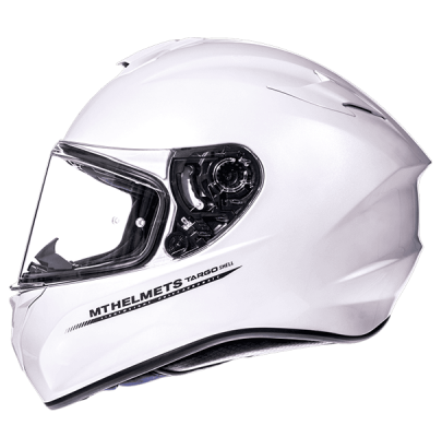 Мотошлем Интеграл MT Targo Solid White Gloss (XS)