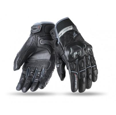 Мотоперчатки кожанные Seventy sd-n32 Silver M