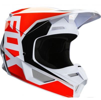 Мотошлем Кросс/Эндуро FOX V1 PRIX Flo Orange (XS)