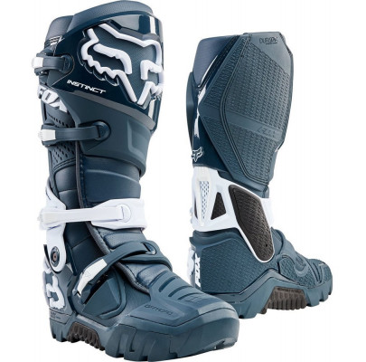 Мотоботы Кросс/Эндуро FOX Instinct Navy X Boot (Size:M10/42)