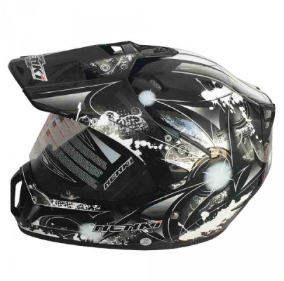 Мотошлем Dual-sport Nenki MX-310 BLACK WHITE L