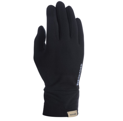 Перчатки Oxford Deluxe Gloves Silk Blk L/XL
