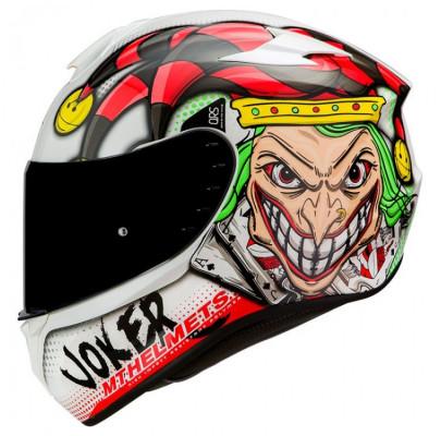 Мотошлем MT Helmets TARGO JOKER White (L)