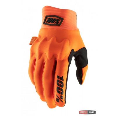 Мотоперчатки Эндуро Ride 100% COGNITO Glove Orange L