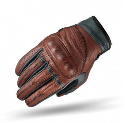 Мотоперчатки кожанные Shima Caliber Brown L