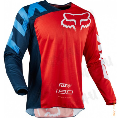 Джерси FOX 180 Race Jersey Red L