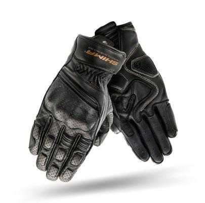 Мотоперчатки кожанные Shima Aviator  Black L